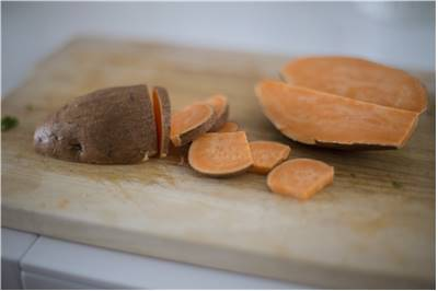 Sweet Potato Chopped